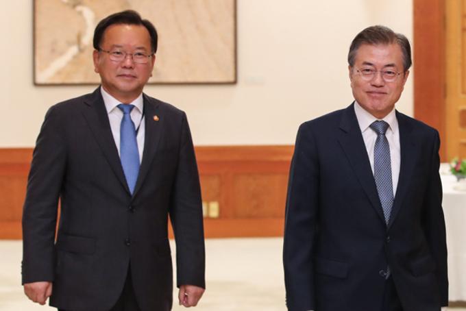 문 대통령, 새 총리에 김부겸 전 장관 지명…5개 부처 개각